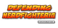 an image of the front cover of the comic called Defending Nerdfighteria